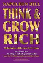 Boek cover Think & Grow Rich van Napoleon Hill (Paperback)
