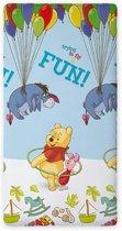 Hoeslaken Winnie the Pooh, 90 x 200 cm
