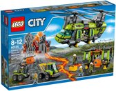 LEGO City Vulkaan Zware Transport Helikopter - 60125