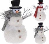 2 stuks Sneeuwman met sjaal | 30 cm