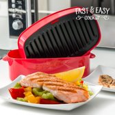 Grill Pan voor de Magnetron - Fast & Easy