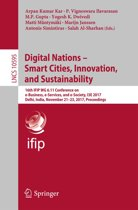 Digital Nations – Smart Cities, Innovation, and Sustainability