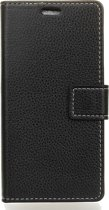 Mobigear Retro Wallet Book Case Zwart Samsung Galaxy A7 (2018)