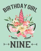 Birthday Girl Nine
