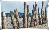 Sierkussen Dune 30x50 cm zand