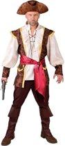 Piraat & Viking Kostuum   Altijd Paraat Piraat Caribische Zee   Man   Medium   Carnaval kostuum   Verkleedkleding