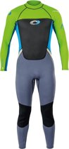 Osprey Wetsuit Origin Fullsuit 3/2 Mm Heren Groen/blauw Maat S