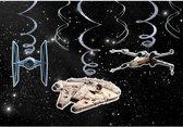 6 Swirl Decorations Verjaardag Slinger Star Wars