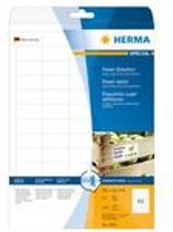 HERMA Etiketten A4 wit 38,1x21,2 mm extreem hechtend 1625 St.