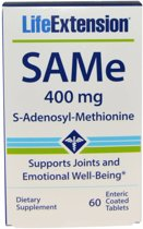 Life Extension SAMe (S-Adenosyl-Methionine) 400 mg