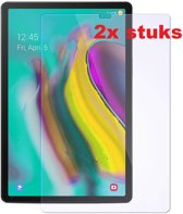 2 stuks Xssive Glazen Screenprotector voor Samsung Galaxy Tab S5e 2019 10,5 inch T720 - Tempered Glass