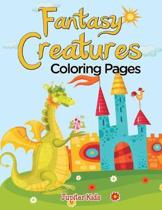 Fantasy Creatures (Coloring Pages)