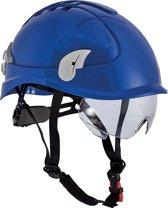 Cerva Alpinworker Lichte Bouwhelm Veiligheidshelm met veiligheidsbril - blauw