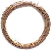 Verguld  draad 0,4mm (26 Gauge) dikte voor het maken van sieraden - 15m