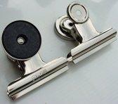 EXXO #21200 - Magnetische Papierklemmen - 50mm - 60 stuks