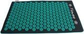 Flowee spijkermat – luxe eco variant – Grijs/groen met kokosvulling