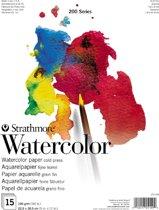 Strathmore 200 series aquarel papier - wit
