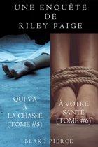 Coffret des Enquêtes de Riley Paige : Qui Va à la Chasse (t. 5) et À Votre Santé (t. 6)