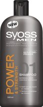 SYOSS Men Power & Strenght - 500 ml - Shampoo