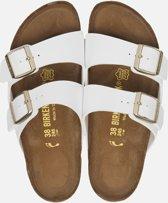 Birkenstock Arizona White Slippers - Dames