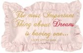 Little Diva Sweet Dream Decoratiekussentje - Roze - 25x40
