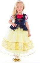 Sneeuwwitje jurk Deluxe - maat 128/140