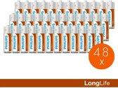 Philips Longlife AA batterijen - 48 stuks - XL-pack