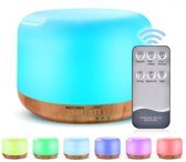 Candle Diffuser 300ML voor Aromatherapie | Aroma Diffuser | Inclusief 2x Etherische Olie | Humidifier | Luchtbevochtiger Aroma| USB Etherische Olie Diffuser | Luchtreiniger | Verdamper | Verstuiver |