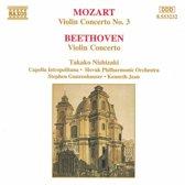 Mozart, Beethoven: Violin Concertos / Nishizaki, et al