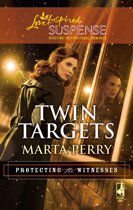 Twin Targets (Mills & Boon Love Inspired) (Protecting the Witnesses, Book 1)