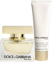 Dolce & Gabbana The One for Women - 2 delig - Geschenkset