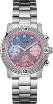 Guess Watches W0774L1 Confetti - Horloge - Staal - Zilverkleurig - 38 mm