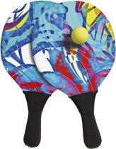 BECO - Strand tennis set - Neopreen - blauw