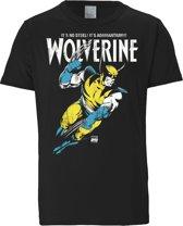 Logoshirt T-Shirt Wolverine - Marvel - Adamantium