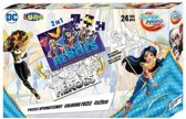 Dc Comics 2-zijdige Puzzel Superhero Girls 24 Stukjes