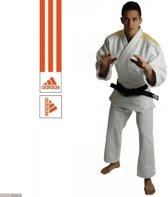 Judopak Adidas wedstrijden & trainingen J690 |wit-oranje 180