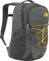 The North Face Backpack - Unisex - Dark Heather/Zinnia Orange