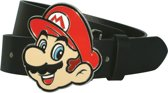 Nintendo - Mario Face Buckle with Strap - Riem - Maat L