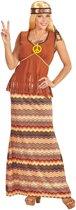 Lang hippie kostuum voor vrouwen - Volwassenen kostuums
