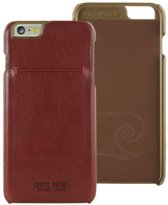 Pierre Cardin Backcover hoesje Rood - Stijlvol - Leer - iPhone 6/6S Plus  - Luxe cover