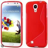 Galaxy S4 Mini S-Line Hoesje Rood