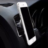 Draaibaar Magnetisch Autohouder Zwart 360 Graden - Car Mount Holder Rotatable- Ventilatie Rooster (Apple iPhone / Samsung / Huawei / LG / HTC / Sony Experia / Nokia / HTC / Asus)