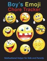 Boys Emoji Chore Tracker