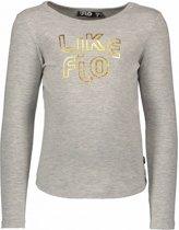 Like Flo Meisjes t-shirts & polos Like Flo Flo girls jersey ls tee LIKE FLO grijs 116