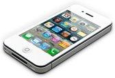 """AVANCA Toughglass Iphone 4 Wit - Glazen Geharde beschermer- Screenprotector- tempered glas-  transparant -2.5D- 9H- (0.4mm) - ( Zeer sterk Materiaal) - Iphone 4 """