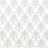 Dutch Wallcoverings vliesbehang dessin - grijs/wit