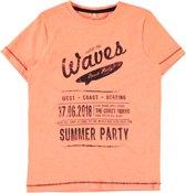 Name it Meisjes T-shirt - ShockOrange - Maat 134-140