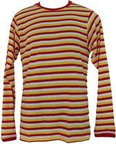 Oeteldonk Shirt Dorus Heren Rood-Wit-Geel XL