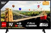 Hitachi 50HK5000 - Televisie UHD 50 inch (127cm) - Smart Wifi