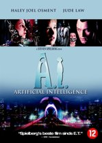 DVD cover van A.I. Artificial Intelligence